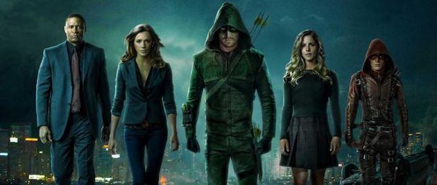 Úvod k seriálu Arrow